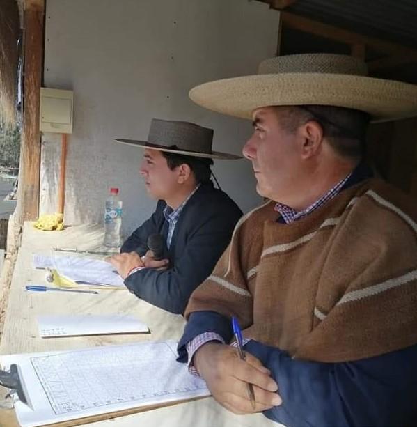 Adrián Miguel Ceballos Méndez , 28 años como jurado en FENARO