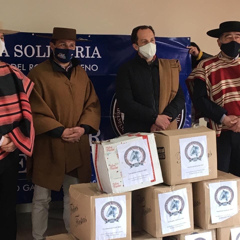 Unión solidaria de Talca ha entregado ayuda  en la comuna