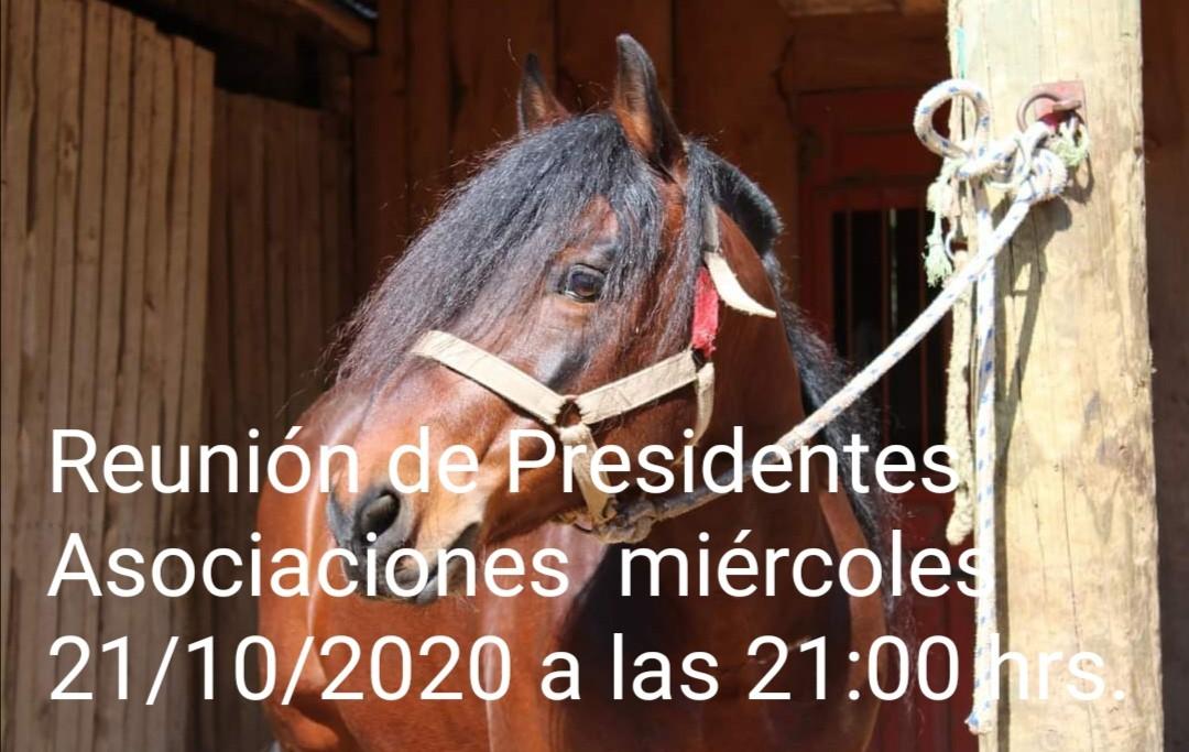 Reunión con todos los Presidentes de Asociones FENARO para este miércoles 21 de octubre