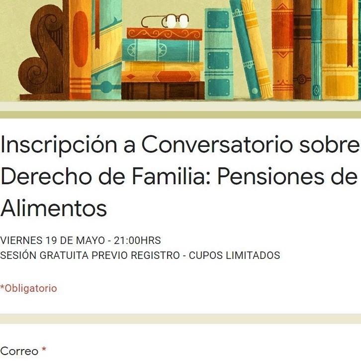 Conversatorio sobre Derecho de Familia: Pensiones de Alimentos