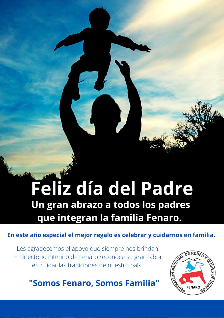 Un gran abrazo a todos los padres que integran la familia Fenaro