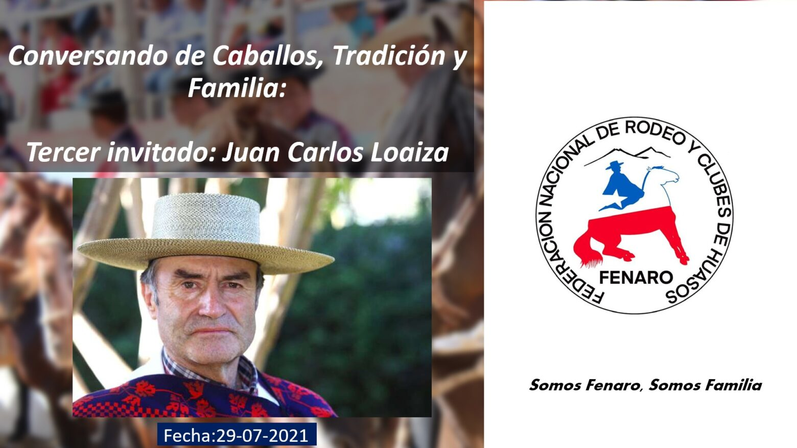 Con gran participación se efectuó conversatorio con Juan Carlos Loaiza