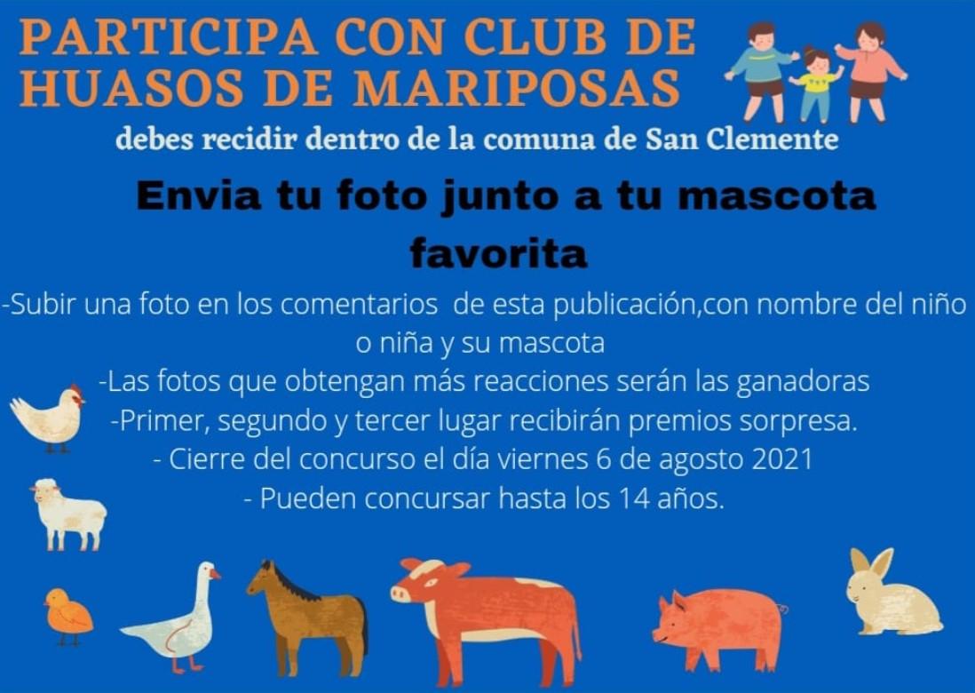 Club Mariposa de la Asociación Talca organizó un concurso para celebrar el día del niño