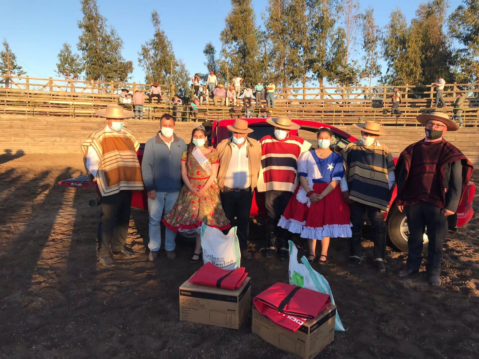 Concha y Hernández ganaron el rodeo organizado por la Asociación Talca